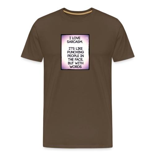 SARCASM - Mannen Premium T-shirt
