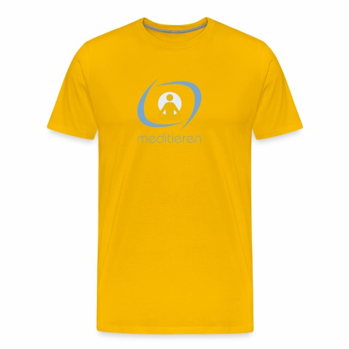 MeditierenHierJetzt.ch - Männer Premium T-Shirt