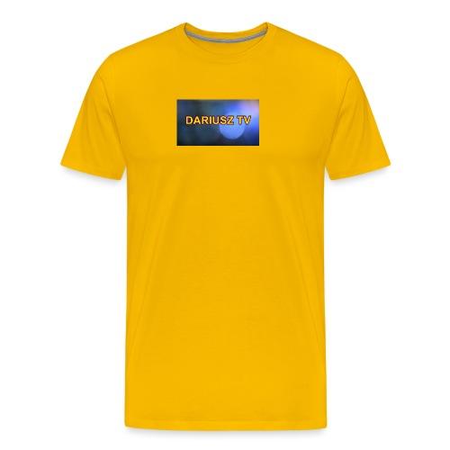 DARIUSZ TV - Koszulka męska Premium