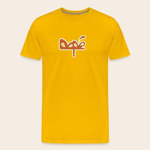 DAPE LOGO - Maglietta Premium da uomo