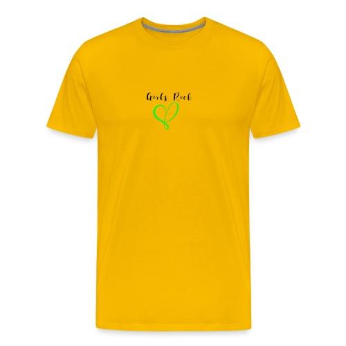 GirlsRock - Men's Premium T-Shirt