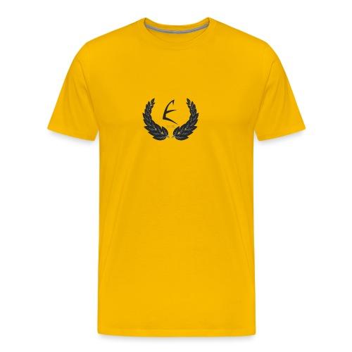 Official White Ezvh Crest Shirt - Men's Premium T-Shirt