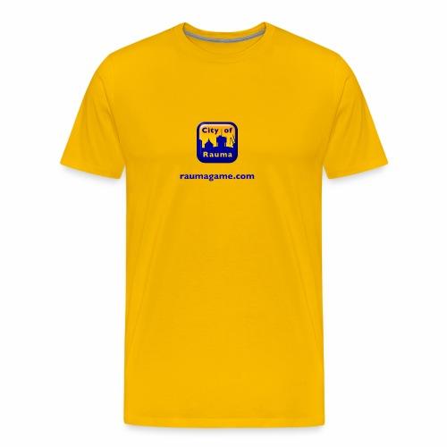 Raumagame logo - Miesten premium t-paita