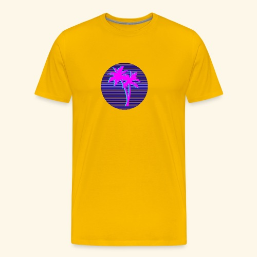 Florida palmtree - T-shirt Premium Homme