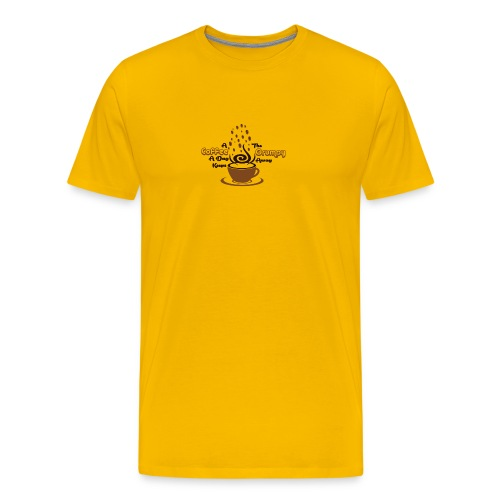 Coffee A Day - Men's Premium T-Shirt