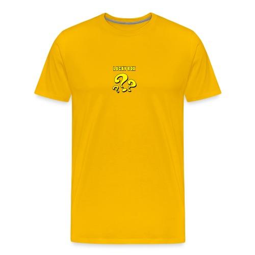 Lucky Box - Premium-T-shirt herr