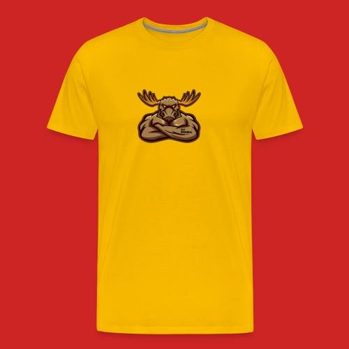 Ace Original Moose Mascot - Men's Premium T-Shirt