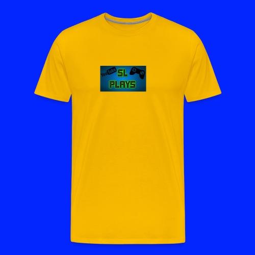 SL Plays musematte - Premium T-skjorte for menn