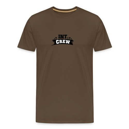 International Crew T-Shirt Design by Lattapon - Herre premium T-shirt
