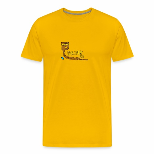 Chocolate Bleach Drink Me - Men's Premium T-Shirt