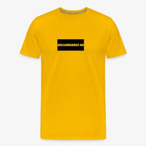 william shirt logo - Men's Premium T-Shirt