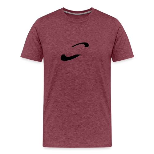 Planet Cycling Icon Black - Men's Premium T-Shirt