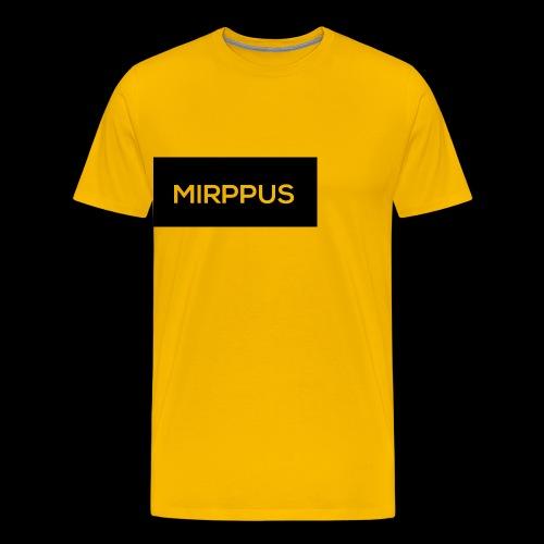 Mirppus Logo - Miesten premium t-paita