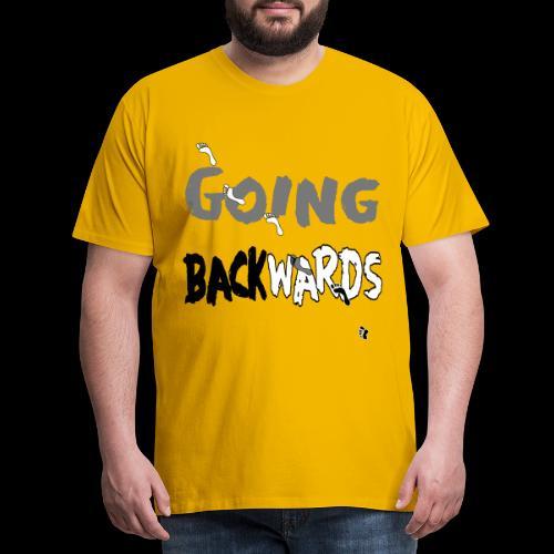 backwardgoing - Männer Premium T-Shirt