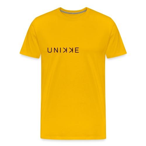 LogoUnikkeBrand - Men's Premium T-Shirt