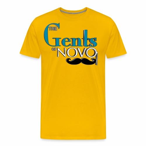 GentsLogoZoom1 png - Men's Premium T-Shirt