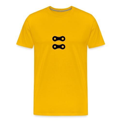 chainlink bw2x copy - Men's Premium T-Shirt