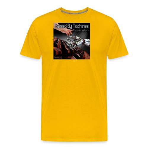 Cybereign - Raised by Machines - Men's Premium T-Shirt
