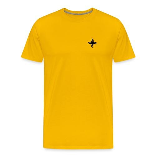 sunlogo plain small - Männer Premium T-Shirt