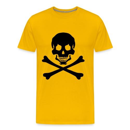 pirateskull - Men's Premium T-Shirt