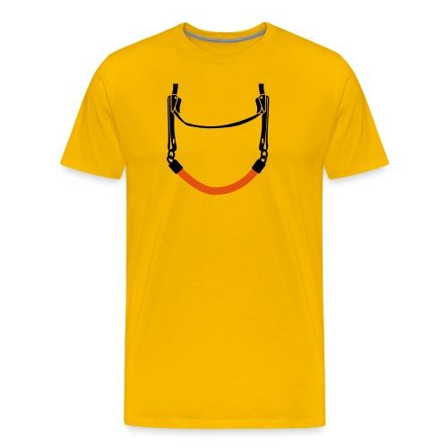 Peekaboo - Premium-T-shirt herr