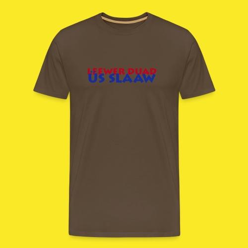 leewerduad01 - Männer Premium T-Shirt