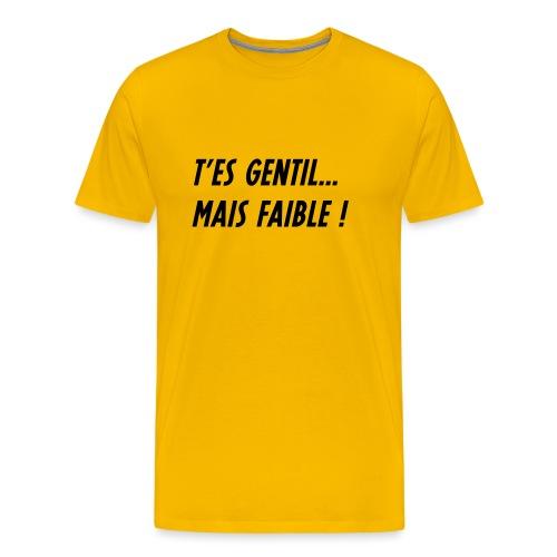PHRASEC1 - T-shirt Premium Homme