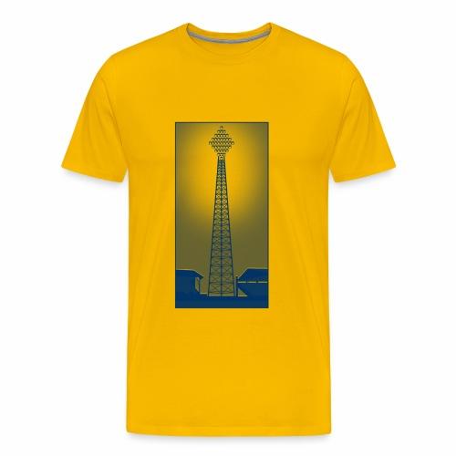 FLOOD NIGHT - Men's Premium T-Shirt