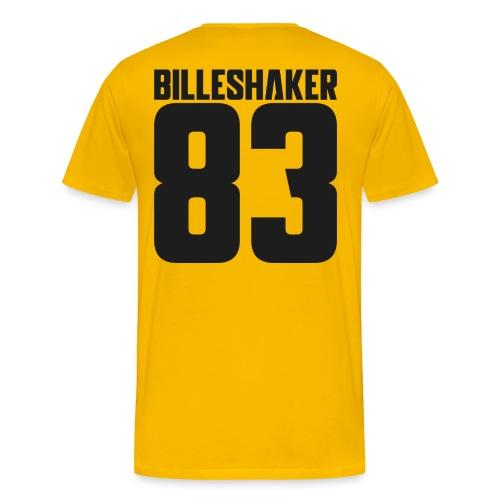 Billeshaker 83 Dark Grey - Men's Premium T-Shirt