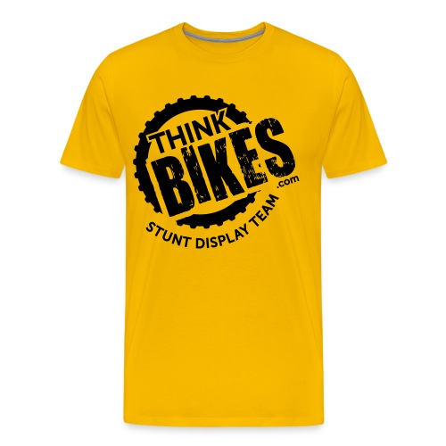 thinkbikesroundel01 - Men's Premium T-Shirt