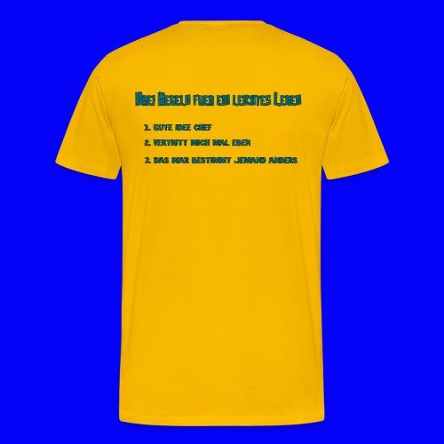 LebensRegeln - Men's Premium T-Shirt