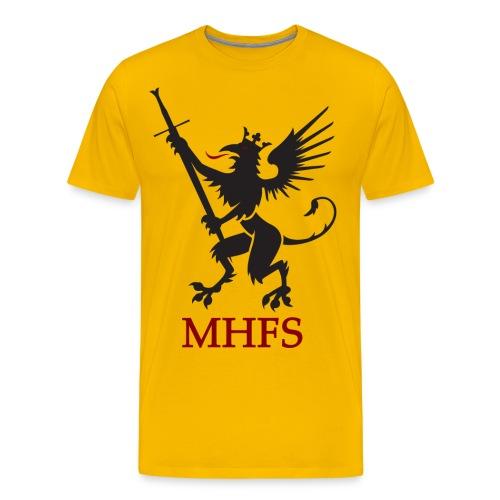 MHFS Logga Pixel png - Premium-T-shirt herr