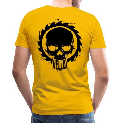Hello Skull - Maglietta Premium da uomo
