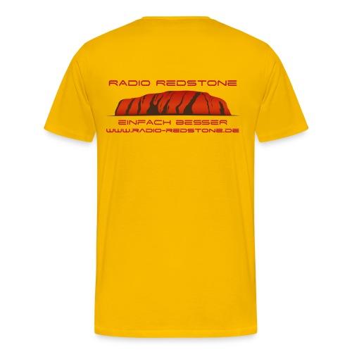 radio redstone logo url png - Männer Premium T-Shirt