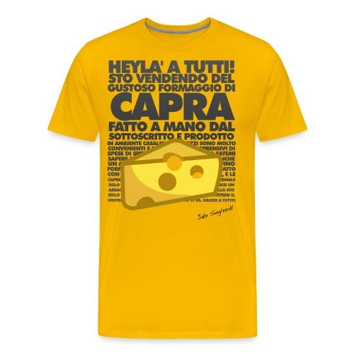 capra cheese - Maglietta Premium da uomo
