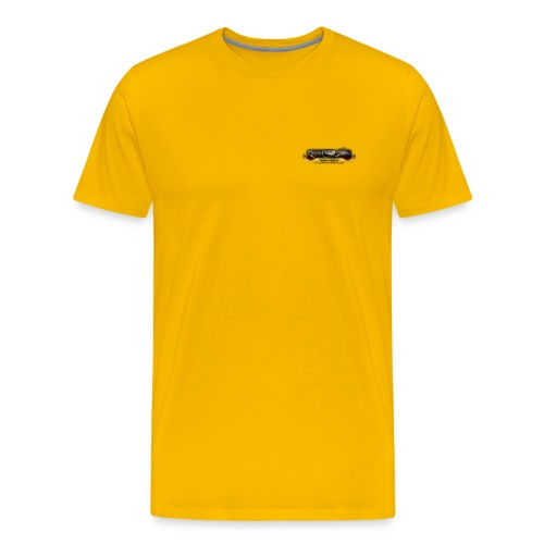 GRG Logo with URL png - Männer Premium T-Shirt