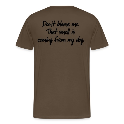 dog smell - T-shirt Premium Homme