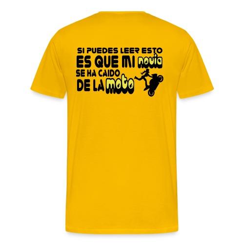 caidomoto dibu - Camiseta premium hombre