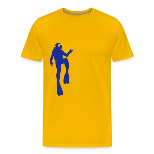 Taucher - Männer Premium T-Shirt