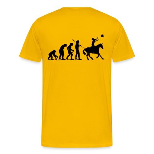 evolution horseball shoot vectoris - T-shirt Premium Homme
