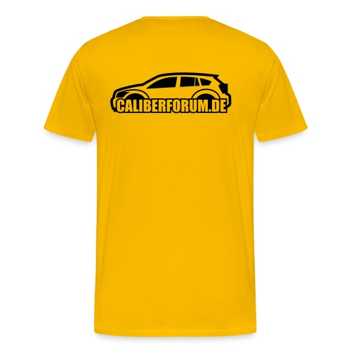 Dunkles Logo - Männer Premium T-Shirt