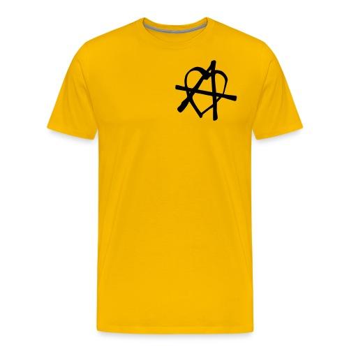 Love and Anarchy - Männer Premium T-Shirt