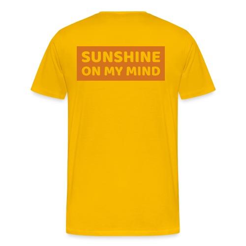 Słońce w mojej głowie - Koszulka męska Premium