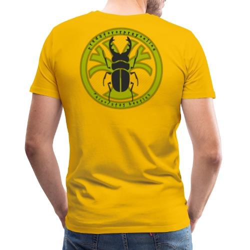 Rhino/Stag Beetle logo - Men's Premium T-Shirt