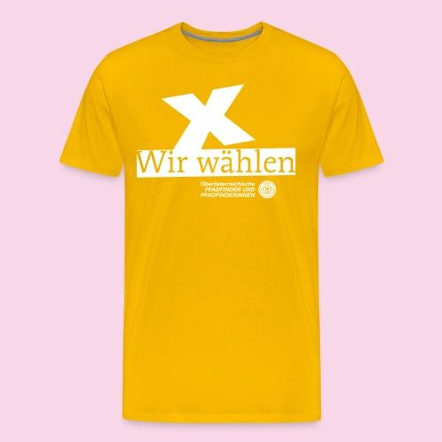 Wir wählen PPOÖ - Männer Premium T-Shirt