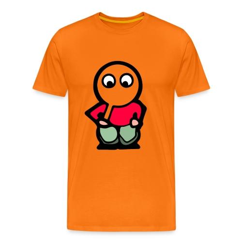itoopieseethru24kx4k - Men's Premium T-Shirt