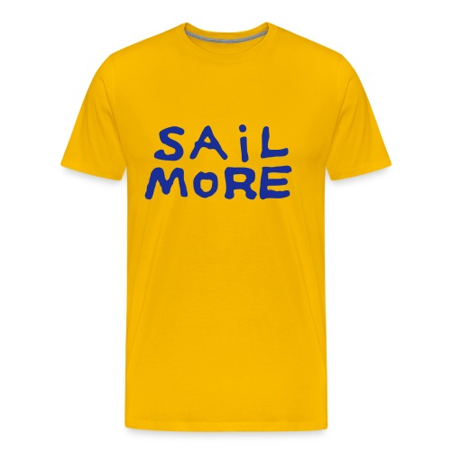 Sailmoreshirt Vorn - Männer Premium T-Shirt