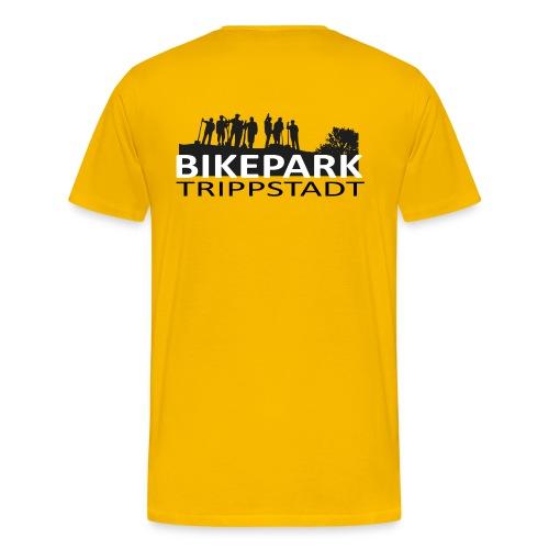 Bikepark staff in schwarz - Männer Premium T-Shirt