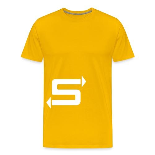 Samba S Logo - Men's Premium T-Shirt