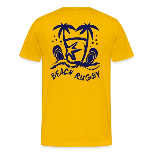 BEACH RUGBY - T-shirt Premium Homme